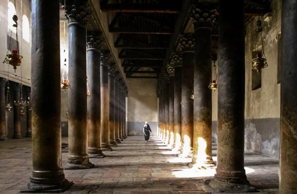 Adoptez une colonne de la basilique de Bethléem
