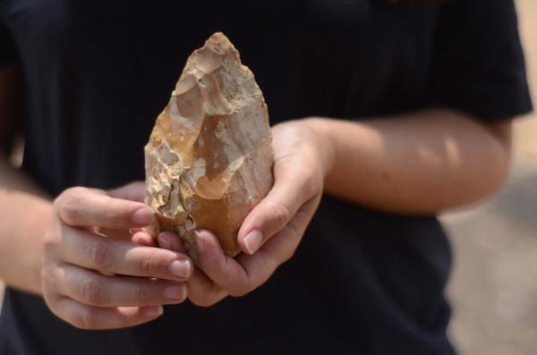 Israël: découverte d'un site préhistorique de 500 000 ans