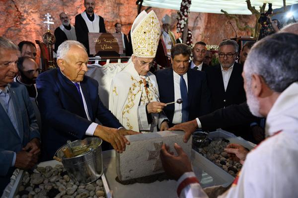 Inauguration d'un sanctuaire dédié à sainte Rafqa au Liban