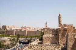 Balade sur les remparts de Jérusalem