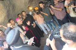 Au Caire, une grotte ayant abrité la ste Famille, rouverte