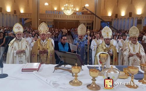 La cathédrale des syro-catholiques d'Alep à nouveau debout