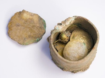 Césarée: un trésor mis à jour, témoin du siège des croisés
