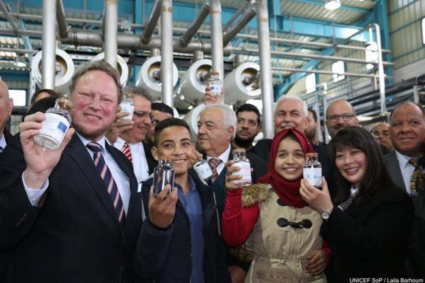 Une usine de dessalement pour étancher la soif de Gaza