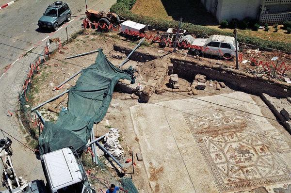 La mosaïque romaine de Lod bientôt exposée au Louvre