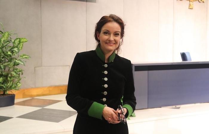 Maria Krethlow-Benziger, lieutenant de l'ordre du Saint-Sépulcre en Suisse.