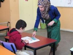 Une école pour personnes handicapées au coeur de la Cisjordanie