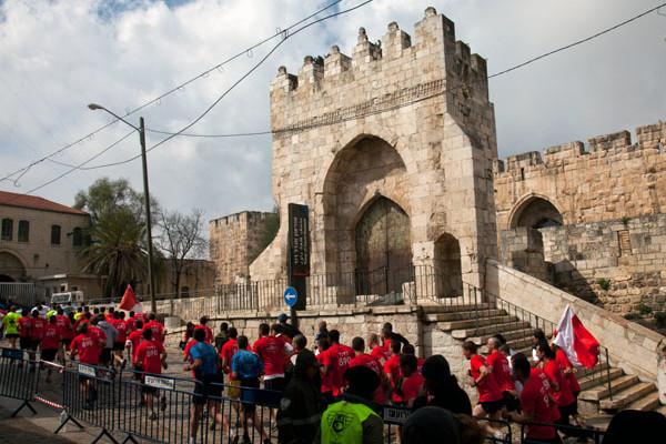Aujourd'hui : deuxième Marathon International de Jérusalem
