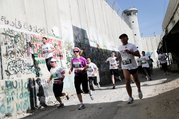 A Bethléem, un marathon pour la troisième fois