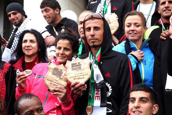 Pas de « droit au mouvement» pour un marathonien de Gaza