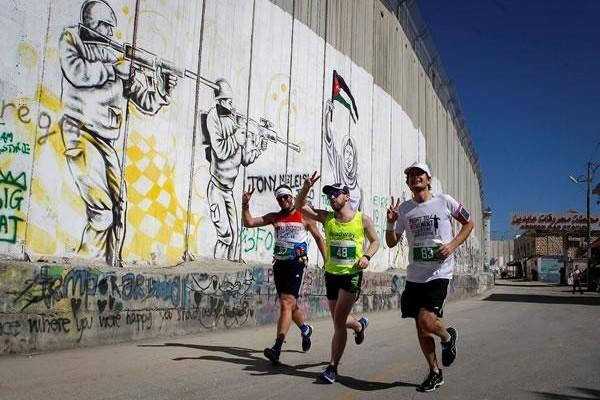 A Bethléem un marathon sans Gaza