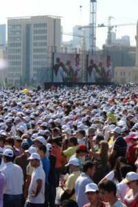 Le Pape à Beyrouth : «Les chrétiens doivent travailler à construire la paix»