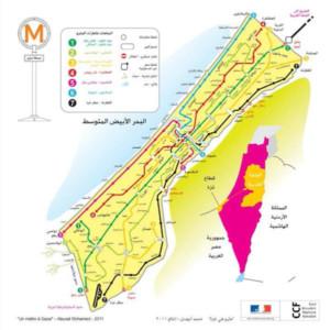 Gaza: Dessine-moi un métro