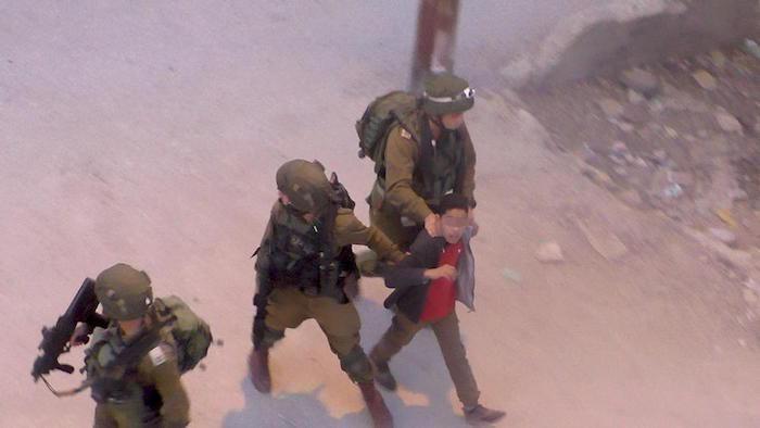 Mineurs palestiniens et maltraitance des forces de sécurité
