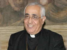 L'archevêque de Tunis, Mgr M. Lahham, nommé vicaire patriarcal à Amman