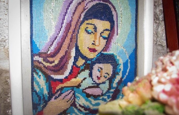 """""""Amour maternel"""". Photo prise par un ancien prisonnier musulman, exprimant ce que représente pour lui la structure House of Grace. ©House of Grace"""