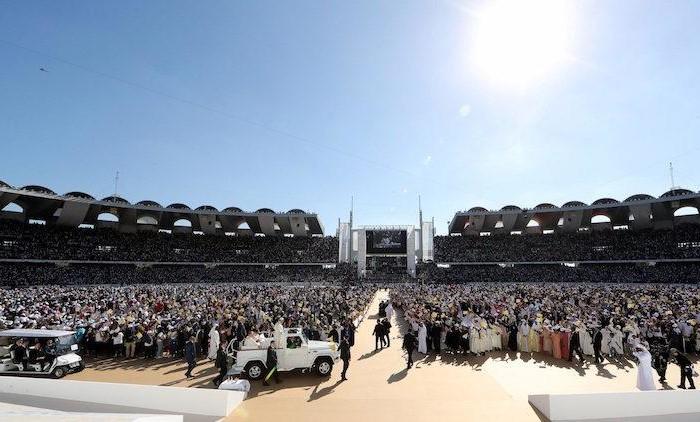 Les Béatitudes prêchées à Abu Dhabi