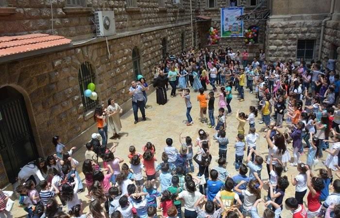 Le centre estival d'Alep, un oasis pour de nombreux enfants.