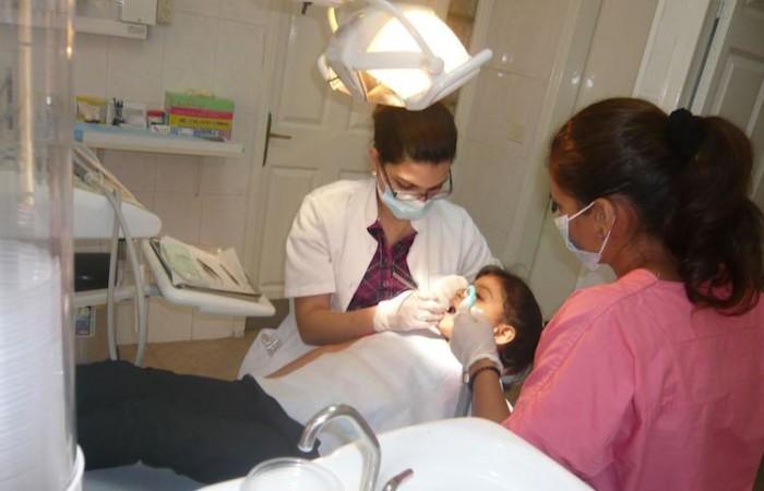 La Mission Pontificale a fourni l'équipement pour les soins dorthodontie à la crèche de Bethléem  ©Pmp