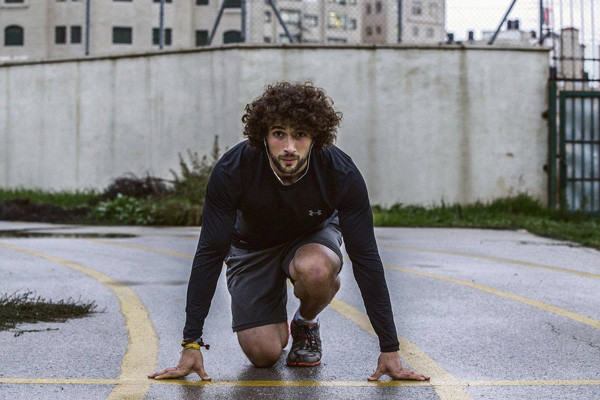 Mohamed al-Khatib le palestinien et son rêve olympique