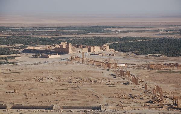 «Pas seulement Palmyre, mais tout le patrimoine archéologique de l'Irak et la Syrie sont en péril»