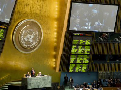 Le Saint-Siège salue le vote des Nations Unies pour la reconnaissance d'un État palestinien
