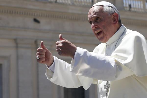 Le pape François attendu au mois de mai en Jordanie, en Israël et dans les Territoires palestiniens