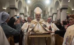 Noël à Bethléem: «Courage, Eglise de Terre Sainte !»