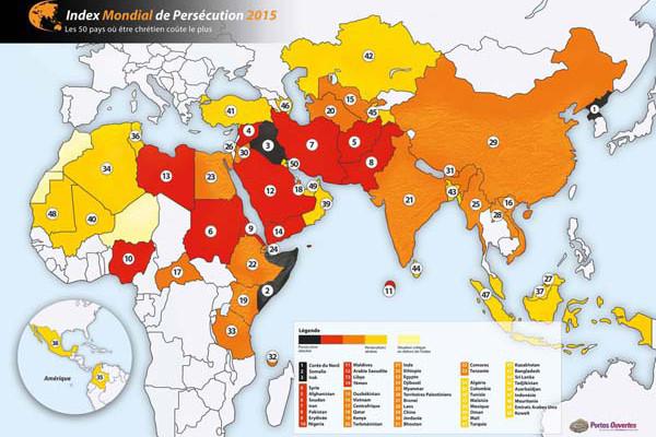 2014 «annus horribilis» pour la persécution des chrétiens