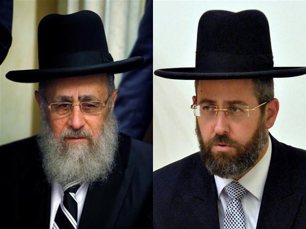 Les deux nouveaux grands rabbins d'Israël ont été élus
