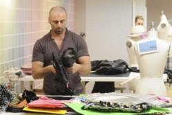 Le couturier palestinien d'Hollywood, de retour au pays