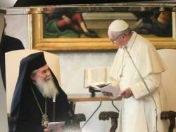 Le pape appelle au respect du statu quo de Jérusalem