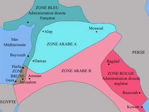Les accords Sykes-Picot ont 100 ans
