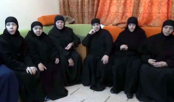 Les soeurs de Maaloula libres après 3 mois de captivité