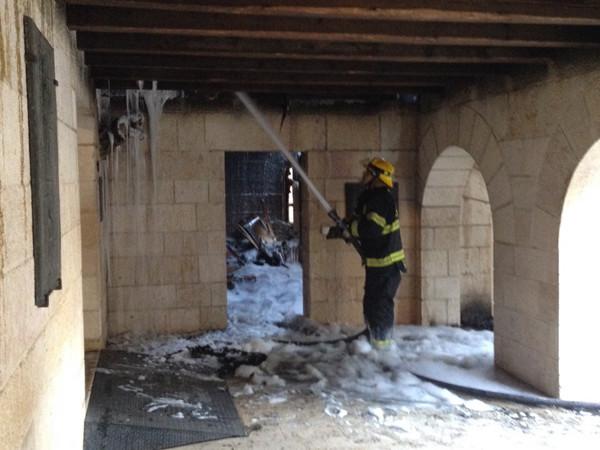 Incendie volontaire à Tabgha chrétiens et juifs s'inquiètent