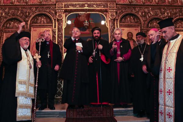 Oecuménisme à Jérusalem: «Chrétiens avant tout»