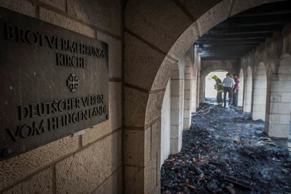L'enquête sur l'incendie criminel de Tabgha se poursuit