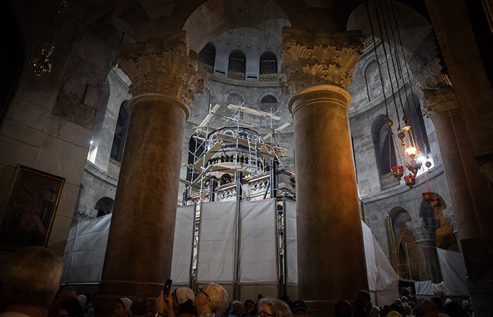 Cadeau du roi de Jordanie à destination du Saint-Sépulcre