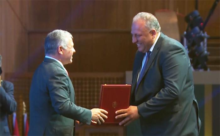 La Caritas Jordanie récompensée par le roi Abdallah II
