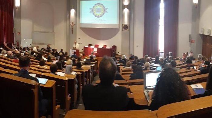 Conférence marquant les 10 ans du Centre Jean-Paul II, organisée à Rome le 7 mai 2019.