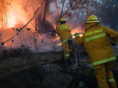 La Terre Sainte en proie à un pic de chaleur incendiaire