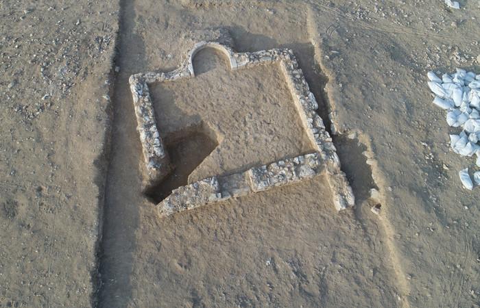 Une mosquée datant du début de l'islam découverte à Rahat