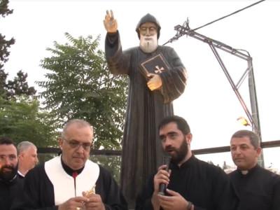 La dévotion à saint Charbel en Terre Sainte