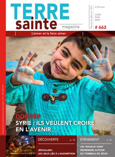 Terre Sainte n. 4/2019 – Sommaire