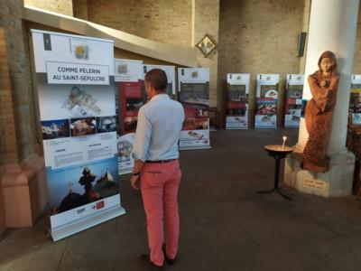 Une exposition itinérante sur le Saint-Sépulcre
