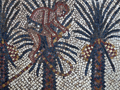 Mosaïques de Huqoq : deux autres scènes bibliques révélées