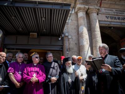 Églises de Jérusalem : unité face à l'acquisition de propriétés chrétiennes