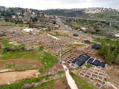 Inédit : une cité néolithique mise au jour près de Jérusalem