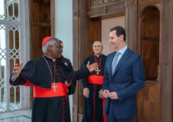 Syrie, le pape François écrit au président Assad