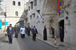 Projet urbain pour la rue du Patriarcat arménien à Jérusalem